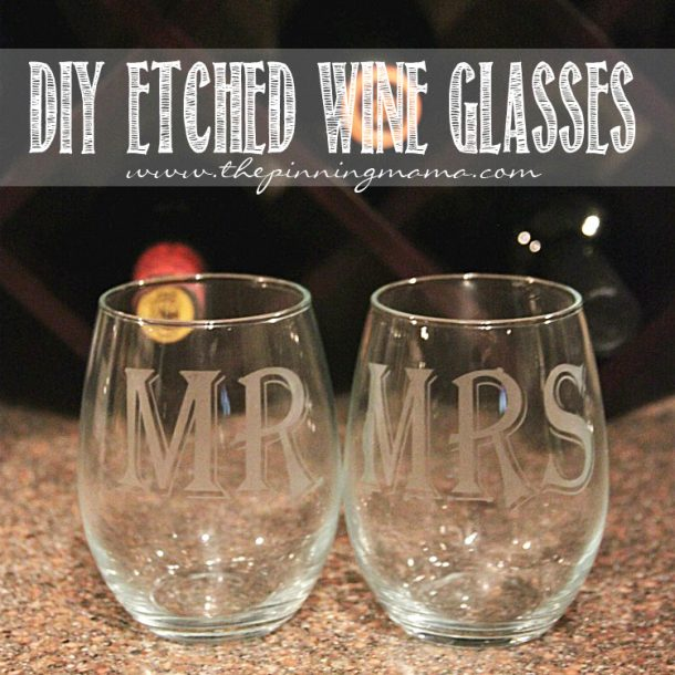 etched wine glasses - thesawguy.com