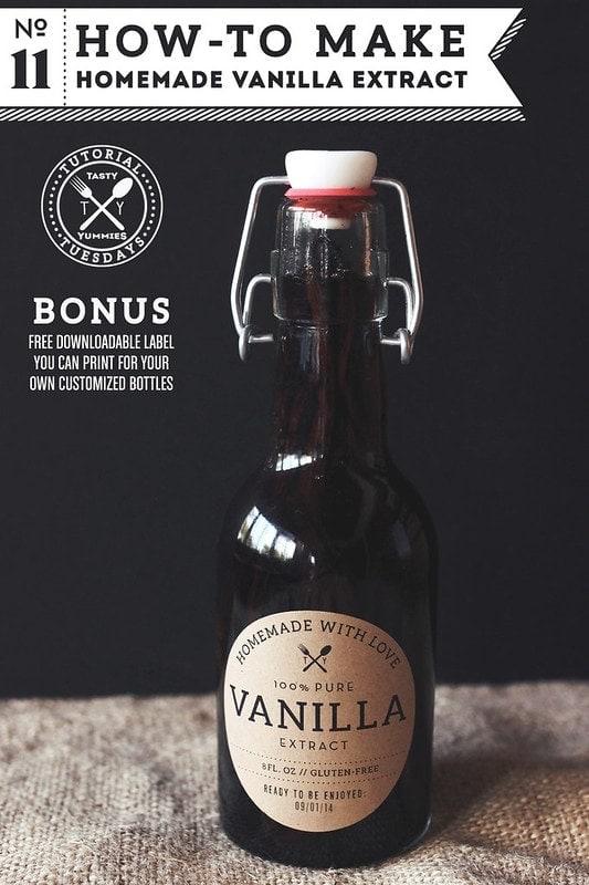 Homemade Vanilla Extract - thesawguy.com