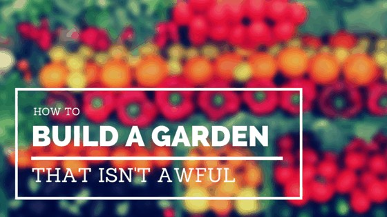 Build a raised garden