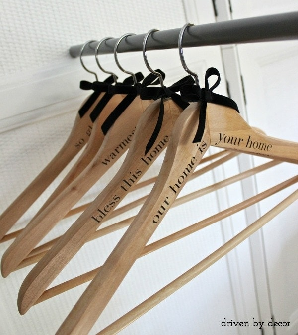Personalized Hangers - thesawguy.com