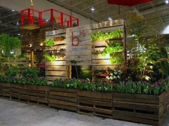 pallets garden supply