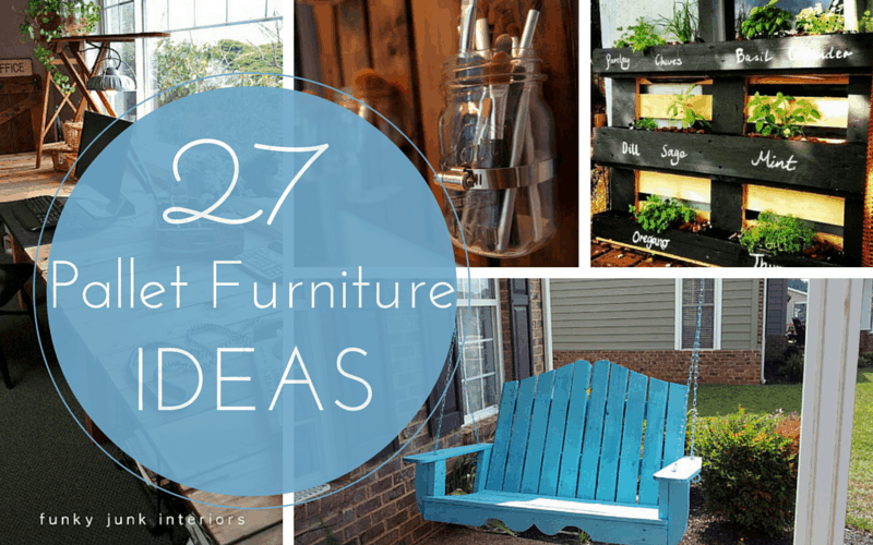 27 Cheap Pallet Furniture Ideas