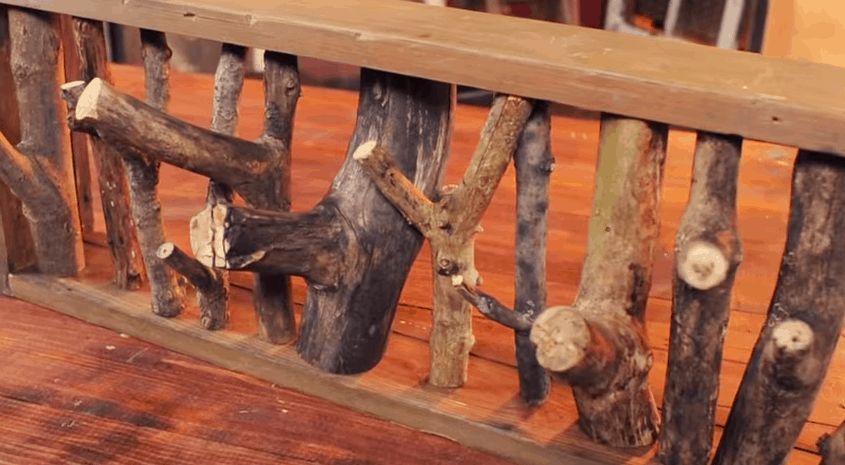 how to make something rustic looking