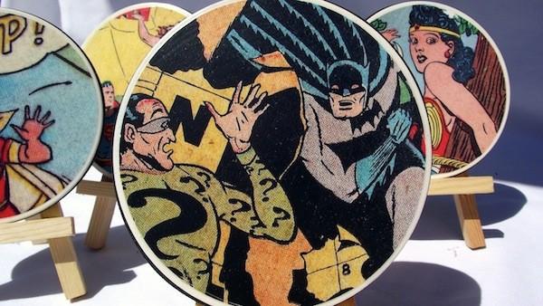 super hero coasters
