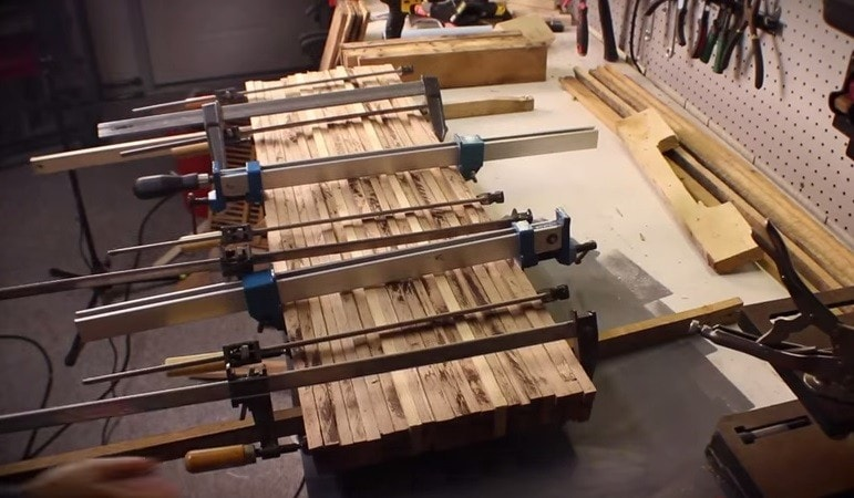 clamp boards