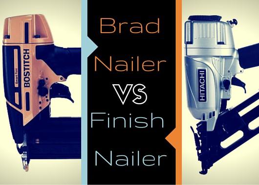 Brad Nailers and Finish Nailers