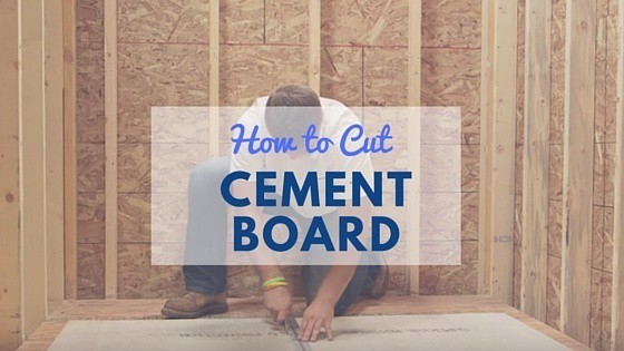 Cutting Cement Board : How to cut hardiebacker board ideas for cutting cement