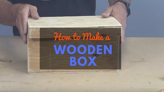 how to build a small wooden toy box