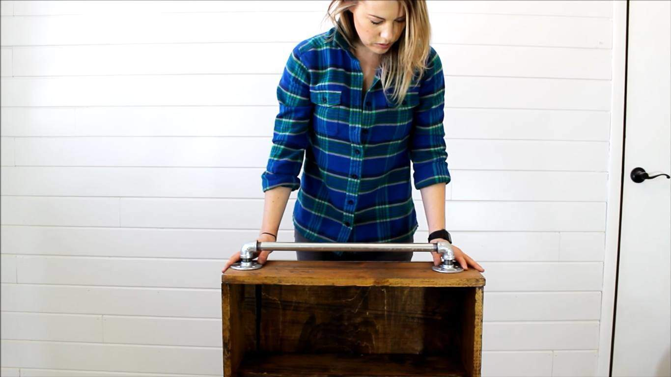 How To Make A Rustic Bathroom Cabinet For Only 20 The Saw Guy