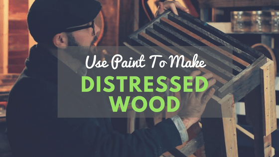 How to distress paint on pallet wood