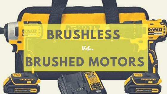 Brushless vs. brushed motors
