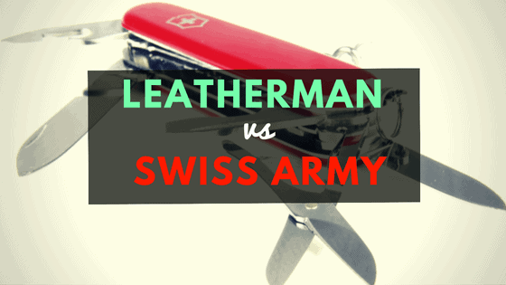 leatherman vs swiss army knife