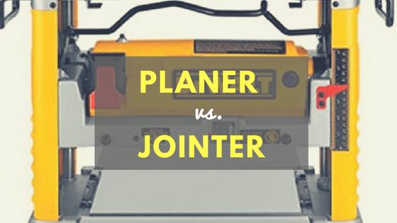 planer vs jointer
