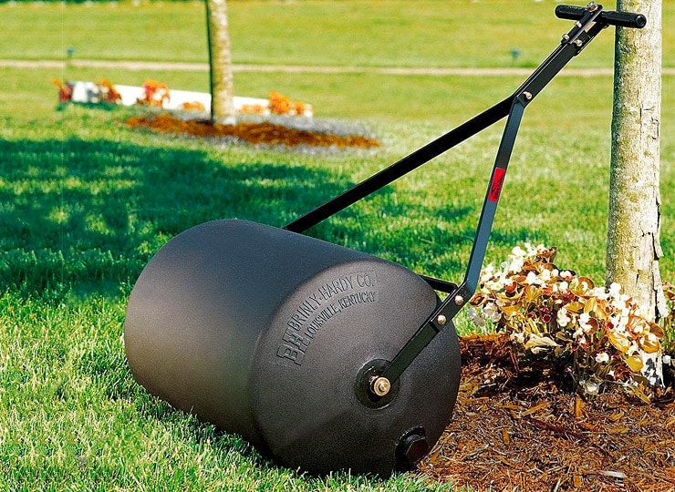 poly lawn roller