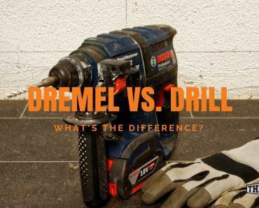 Dremel vs. Drill