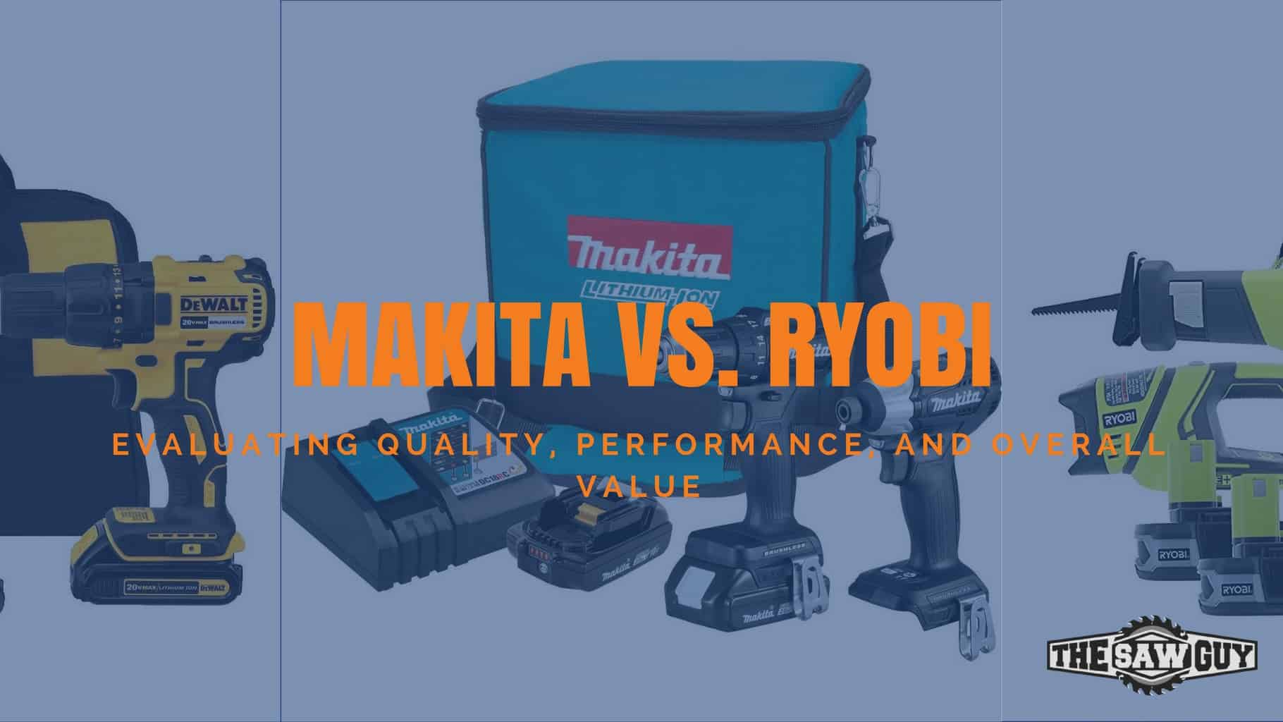 Makita Vs Ryobi Which Tool Brand Offers Better Overall Value Side Handle Bosch Gerinda 4