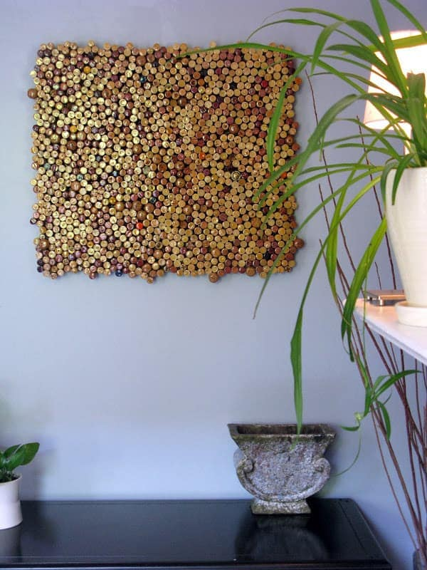 Gorgeous DIY Cork Art
