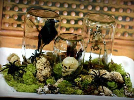 DIY Halloween Centerpiece