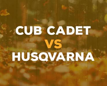Cub Cadet vs. Husqvarna