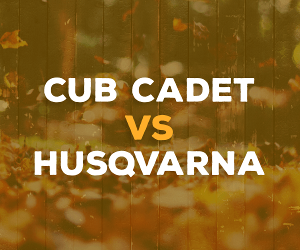 Cub Cadet vs  Husqvarna - The Midrange Riding Lawn Mower
