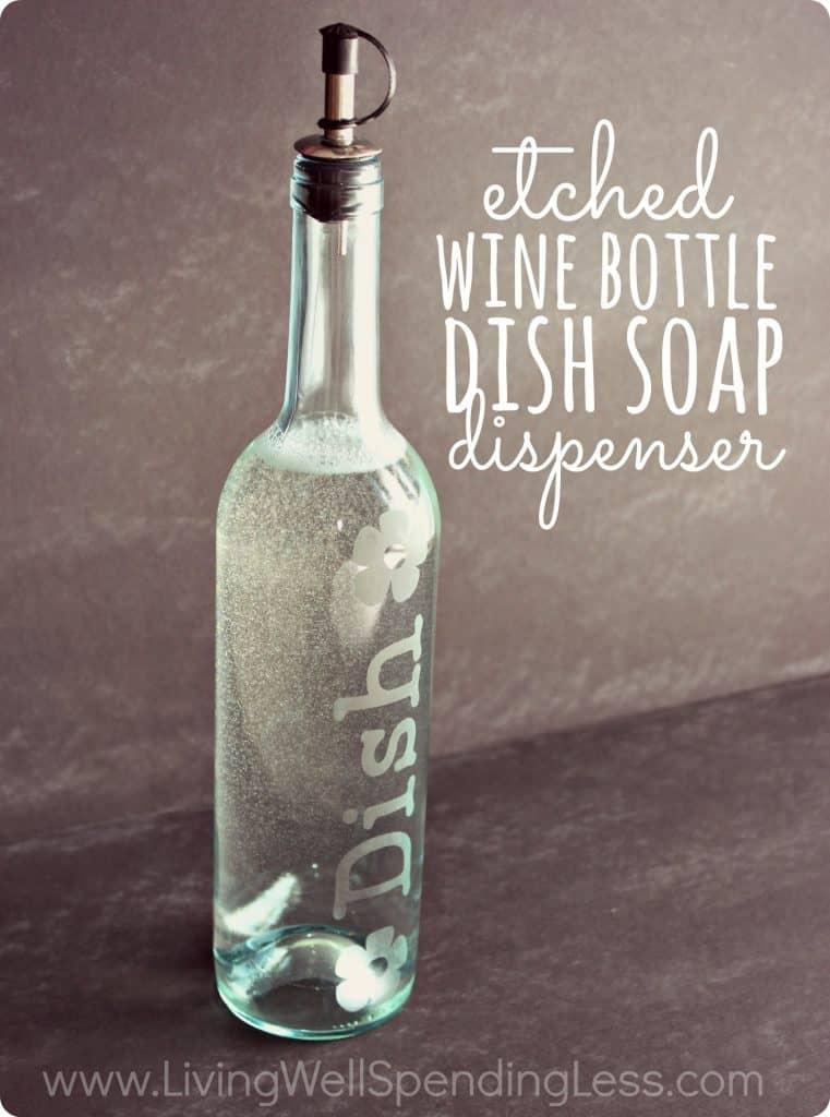 Wine Soap Bottle