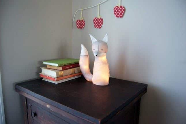 DIY Fox With LED Lights