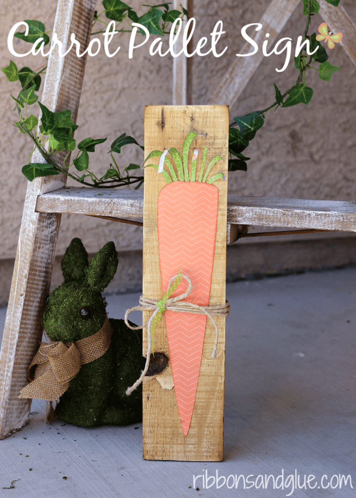 Easy Rustic Easter Pallet