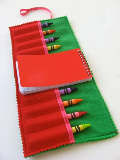 Children's Crayon Holder