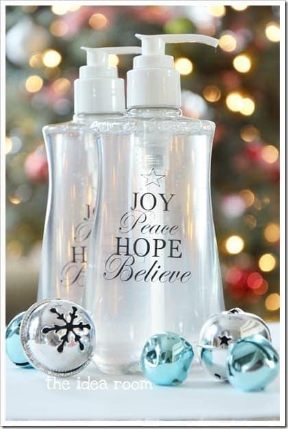 DIY Soap Bottle Gift