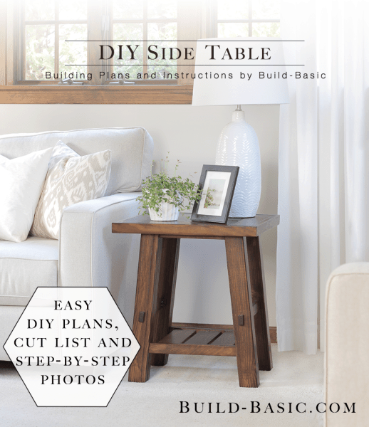 Clic Diy End Tables