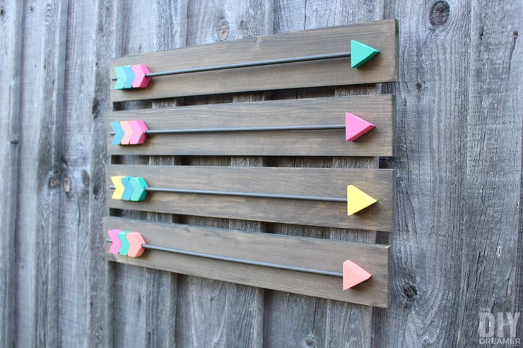DIY Arrow Decor