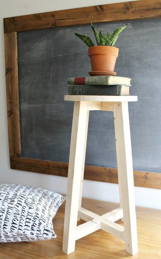 Easy Homemade Barstool