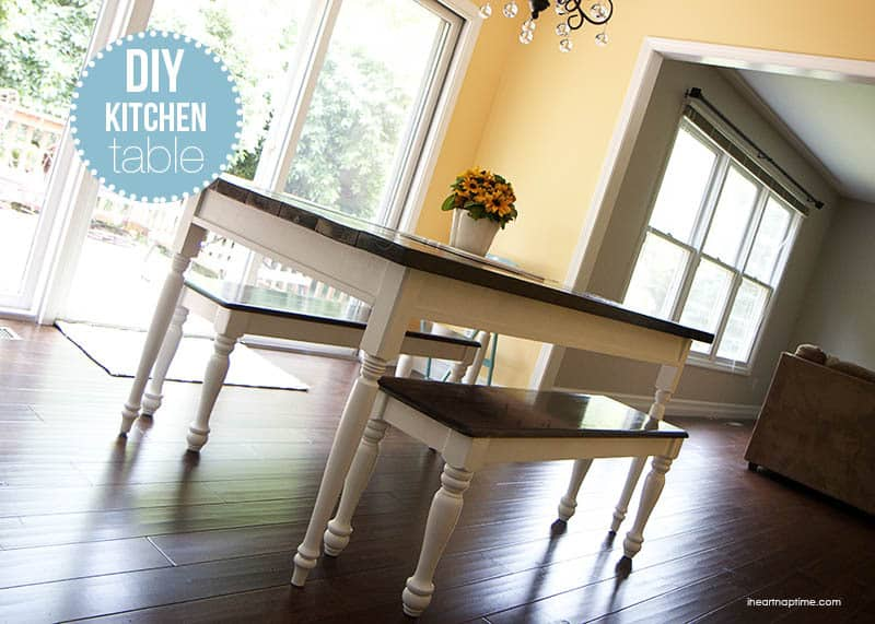 Classic Farm Style Dining Table