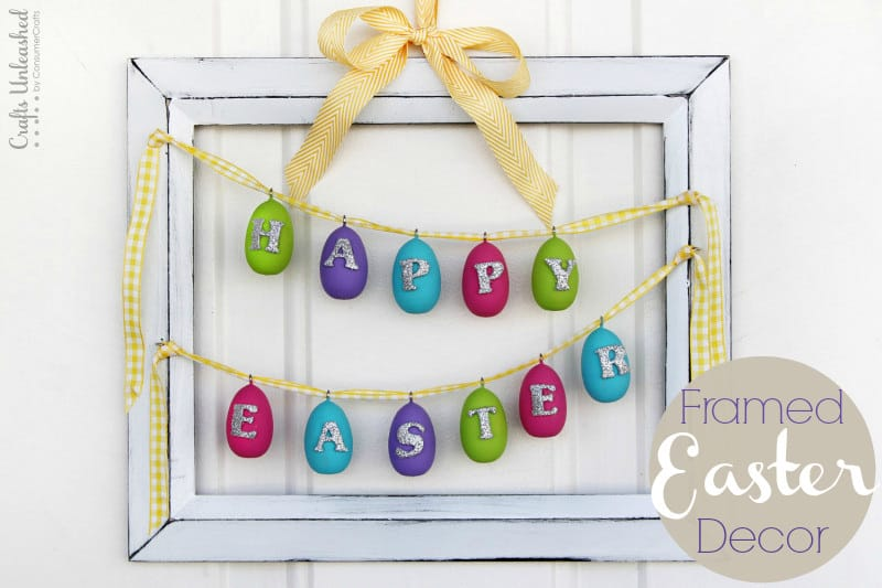 Framed DIY Easter Art