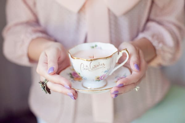 Teacup Candle DIY