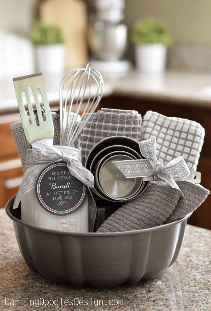 Bundt Cake Housewarming Gift