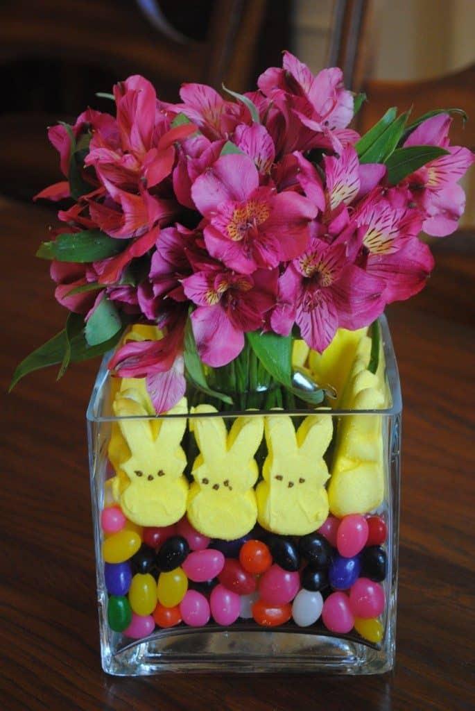Easter Peep Centerpiece