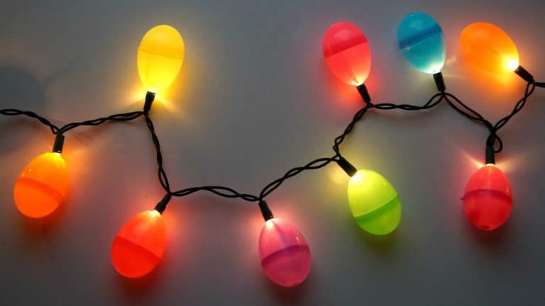 DIY Easter Egg Lights