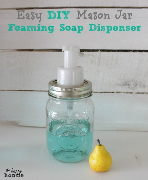 Simple DIY Foam Soap Dispenser