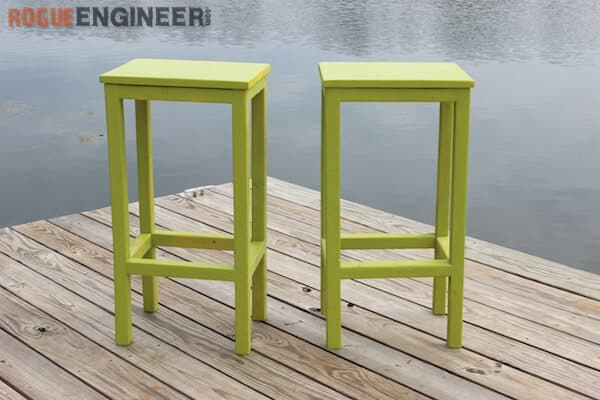 Simple Budget Friendly Stools