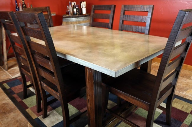 Concrete Modern Style Dining Table