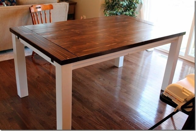 Dining Table With Leave Extensions
