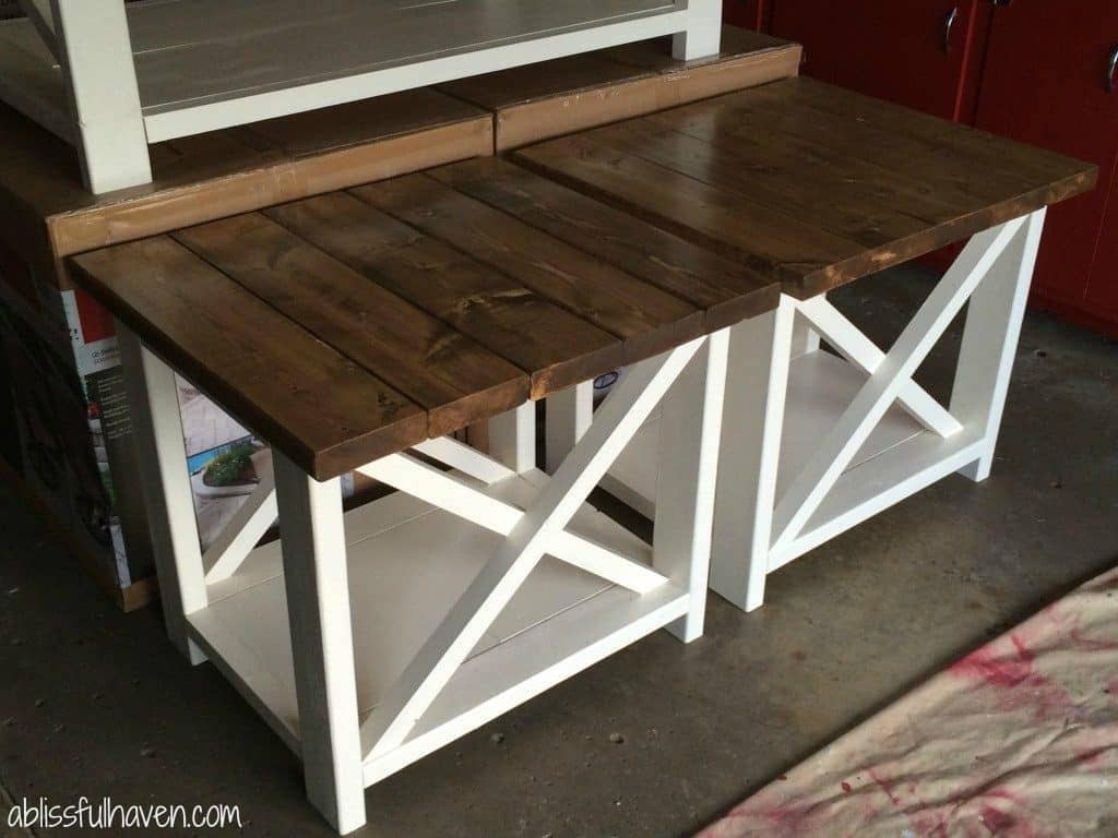 Beautiful Farmhouse End Table