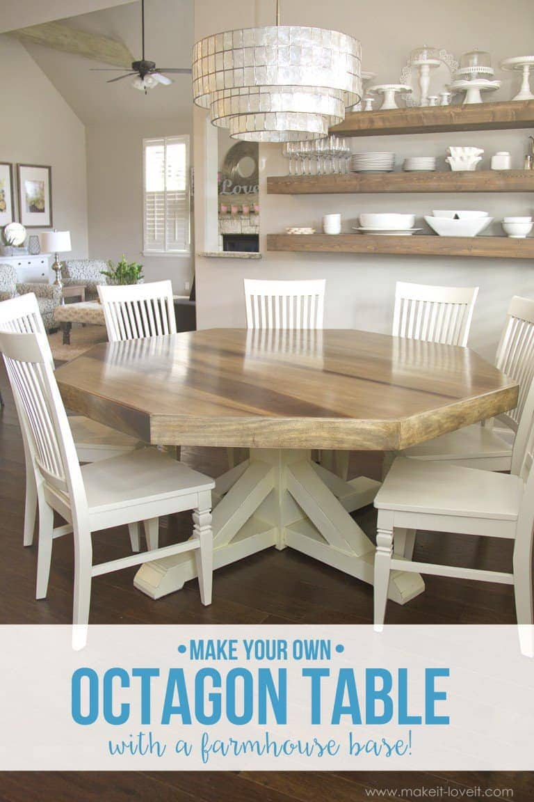 25 Awe-Inspiring Dining Tables To Make Yourself - The Saw Guy