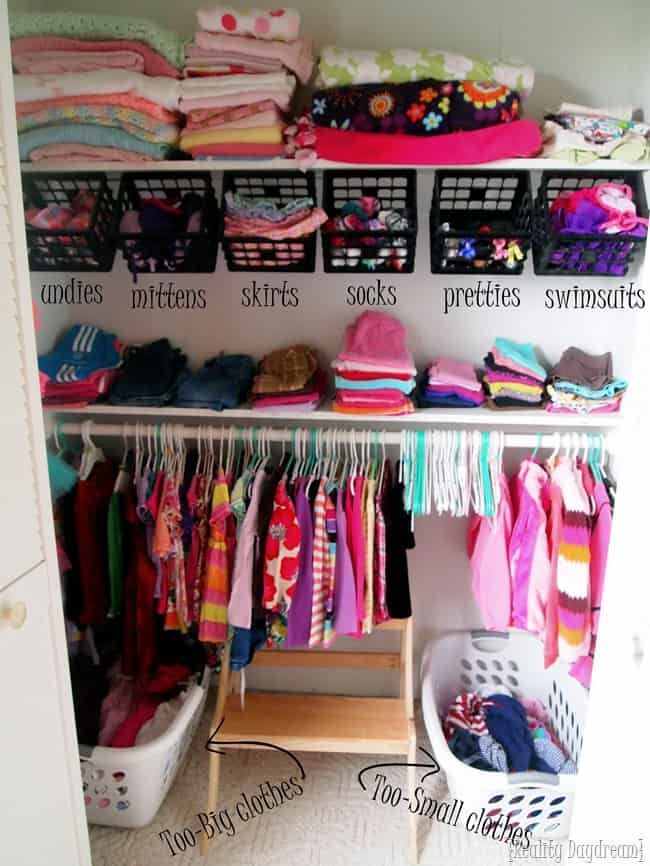 Diy Kid Closet Transformation