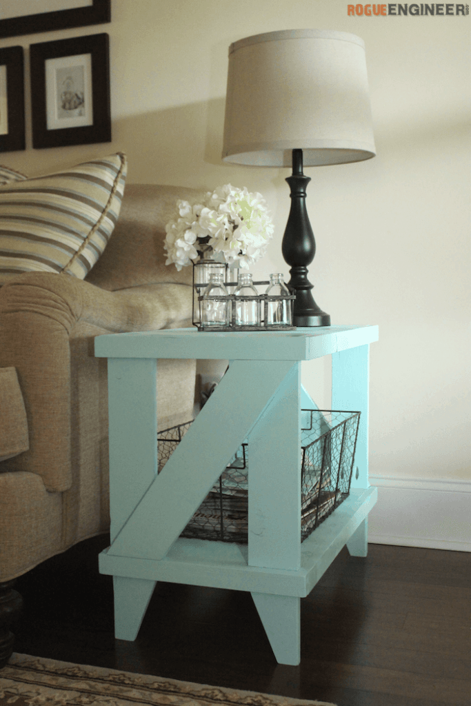 . Country Cottage Style Table