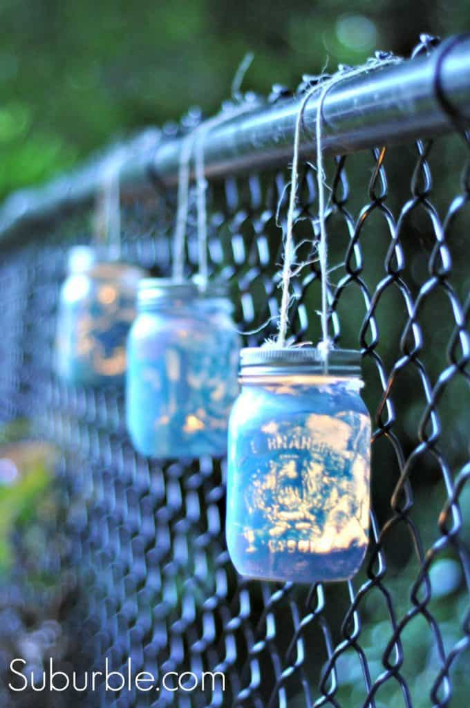 Mason Jar Lanterns For Outdoors