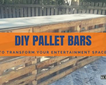 DIY Pallet Bars