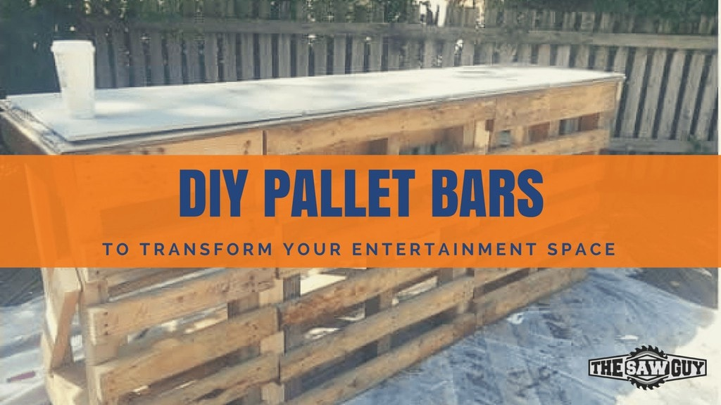 15 Epic Pallet Bar Ideas To Transform, How To Build An Outdoor Bar Out Of Pallets