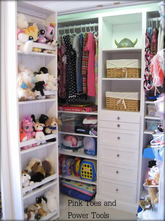 Homemade Closet Organizer